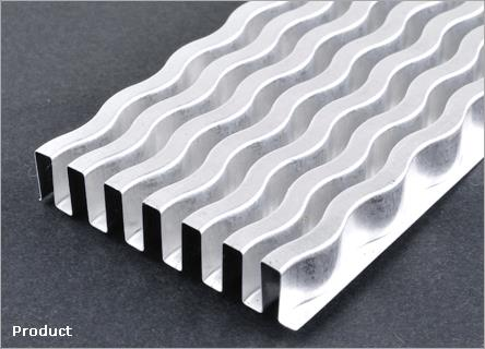 Plate Fin Heat Exchangers Automatic Fin Making Forming